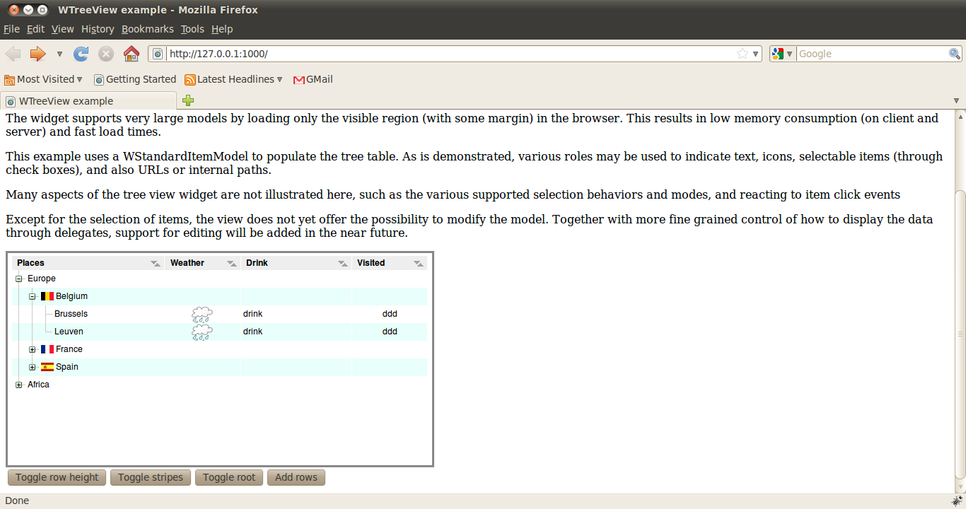 bug in treeview (screenshots added) - Wt - Redmine