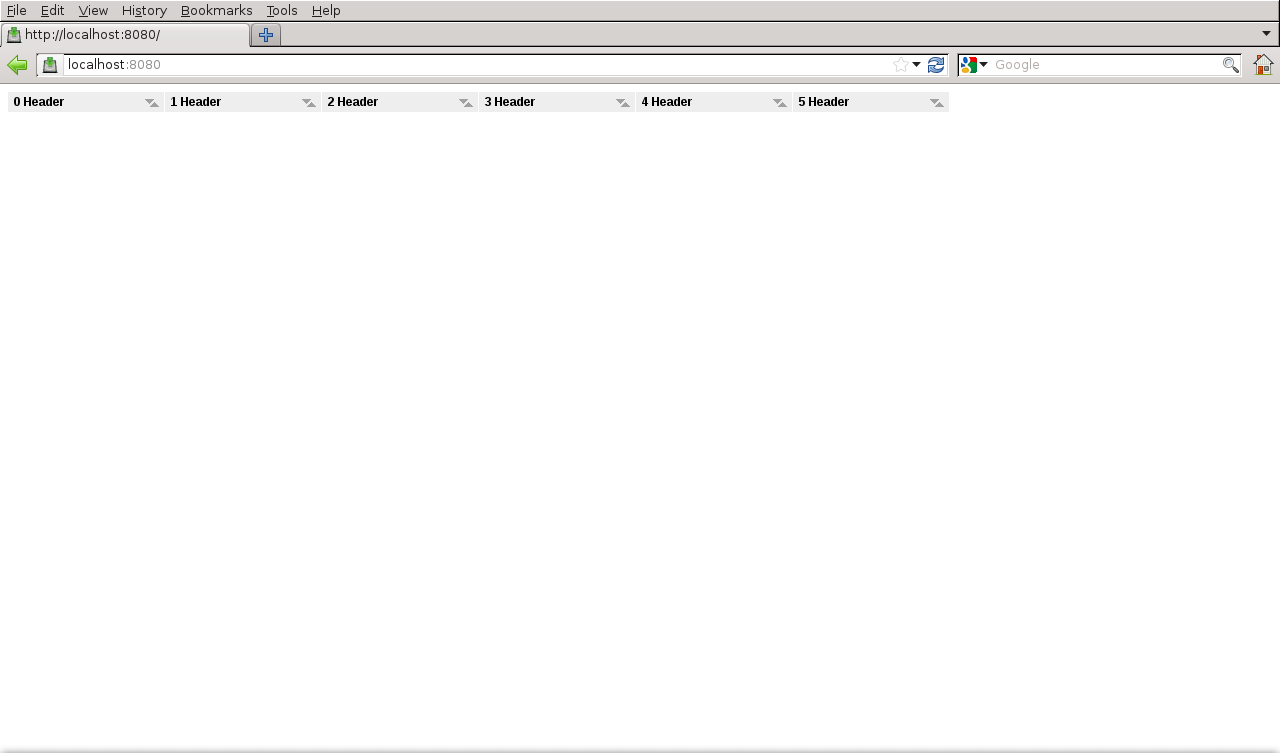 WTableView rows not visible under Firefox/Internet Explorer - Wt